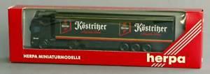 【送料無料】模型車 モデルカー スポーツカー herpa scania tl khlker kstritzer 187 147378 ovp