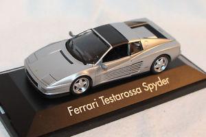 【送料無料】模型車 モデルカー スポーツカー プラスチックモデルフェラーリスパイダーオリジナルボックスherpa 143 kunststmodell 010344 ferrari testarossa spyder neu in ovp
