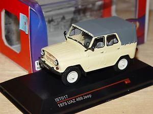 【送料無料】模型車 モデルカー スポーツカー ジープモデルneues angebotuaz 469 jeep 1975 143 ist models