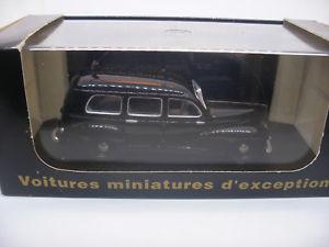 【送料無料】模型車 モデルカー スポーツカー フランスコレクションプジョーvoiture 143 eligor france collection cec v3510 peugeot 203 noire gendarmerie