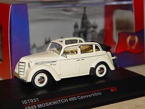 【送料無料】模型車 convertible モデルカー スポーツカー モデルneues angebotmoskvitch 1949 400 モデルカー convertible 1949 143 ist models, アラオシ:da90c55d --- jpsauveniere.be