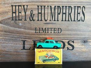 【送料無料】模型車 モデルカー スポーツカー マッチバージョンミントボックスmatchbox regular wheels 56b2version mint e3 box excellent from 1967