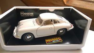 【送料無料】模型車 モデルカー スポーツカー ポルシェクーペモデルカーporsche 356b coupe 1962 3021 modellauto 118 bburago in ovp