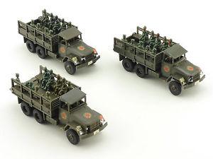 【送料無料】模型車 モデルカー スポーツカー ロコインミニタンクポータートランroco minitanks konvoluttruppentranporter gmc figuren 16021263