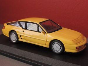 【送料無料】模型車 モデルカー スポーツカー ミニチュアルノーアルパインメーカーvoiture miniature renault alpine a610 fabricant gts 143