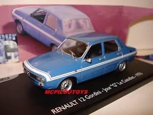 【送料無料】模型車 モデルカー スポーツカー プロモーションルノールキャッセレpromotion eligor renault 12 gordini jour g  le castellet 1970 au 143
