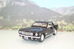 【送料無料】模型車 モデルカー スポーツカー ミラフォードムスタングブラックmira 118 ford mustang 1965 schwarz b505 o