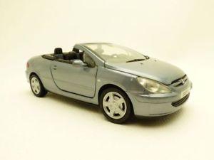【送料無料】模型車 モデルカー スポーツカー プジョーpeugeot 307cc gris bleut 307 cc 124