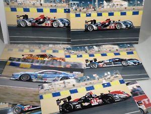 【送料無料】模型車 モデルカー スポーツカー ルマンショットアーカイブlot of 13 photos cm 10x15 24h le mans 2009 original shots by archives gasnerie