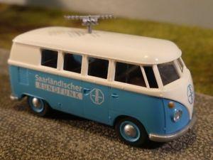 【送料無料】模型車 モデルカー スポーツカー バススペシャルモデル187 wiking vw t1 b bus saarlndischer rundfunk sr sondermodell