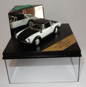 【送料無料】模型車 モデルカー スポーツカー フィアットスパイダーアバルトスポーツホワイトvitesse fiat 124 spider sport abarth stradale white 143 ref o49a in box