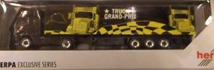 【送料無料】模型車 モデルカー スポーツカー ボルボスーツケースセミトレーラトラックグランプリ