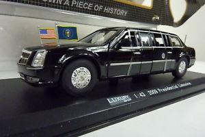 【送料無料】模型車 モデルカー スポーツカー ダイカストキャデラックリムジンluxury diecast 143 ldpl600bk 2009cadillac presidential limousine ovp a1025