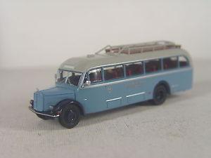 【送料無料】模型車 モデルカー スポーツカー バスホモデルピンgrf amp; stift 120 on bb bus brekina ho modell 187 58081 e