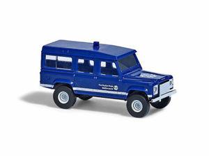 Busch 8378-1//160//n Land Rover Defender-Gendarmería-nuevo