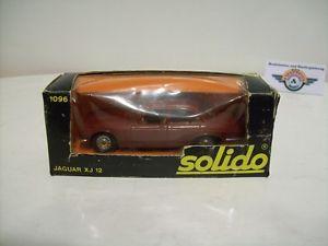 【送料無料】模型車 モデルカー スポーツカー ジャガーダークレッドフランスjaguar xj 12, dark red, 1973, solido made in france 143, ovp