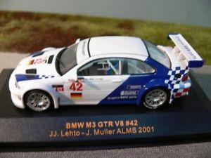 【送料無料】模型車 モデルカー スポーツカー ネットワーク#143 ixo bmw m3 gtr v8 42 alms 2001