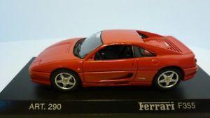 【送料無料】模型車 モデルカー スポーツカー フェラーリ##detailcars revell 143 290 ferrari f355 rot 23394
