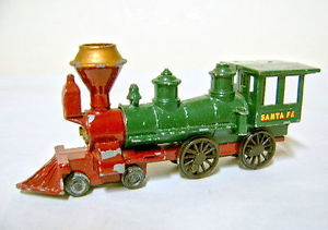【送料無料】模型車 モデルカー スポーツカー アメリカサンタフェマッチモデルmatchbox models of yesteryear y13a american santa fee locomotive