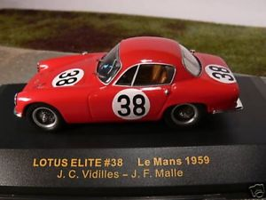 【送料無料】模型車 モデルカー スポーツカー ネットワークロータスエリート#ルマン143 ixo lotus elite 38 le mans 1959
