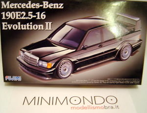 【送料無料】模型車 モデルカー スポーツカー キットメルセデスベンツエボリューションkit mercedes benz 190e2516 evolution ii 124 fujimi 12571 rs14 190e 190