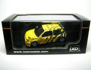 【送料無料】模型車 モデルカー スポーツカー ルノークリオマキシテストカーrenault clio maxi test car gelbschwarz 1995