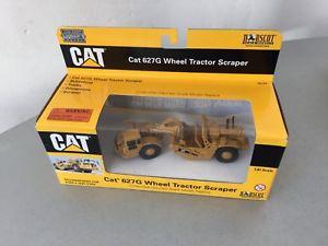 【送料無料】模型車 モデルカー スポーツカー ビンテージホイールトタースクレーパーvintagenorscot cat 627g wheel tractor scraper 187 nib