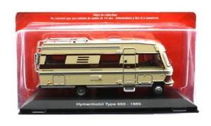 【送料無料】模型車 モデルカー スポーツカー アトラスタイプatlas 143 hymermobil type 650 1985
