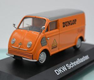 【送料無料】模型車 モデルカー スポーツカー モデルカーダンロップボックスモデルクイックバイスschuco 02394 modellauto dkw schnelllaster kasten dunlop modellfahrzeug boxed