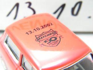 【送料無料】模型車 モデルカー スポーツカー マッチミニライプチヒモデルmatchbox moy c2 vem02 mini leipzig 13102002 sehr seltenes modell ovp k11