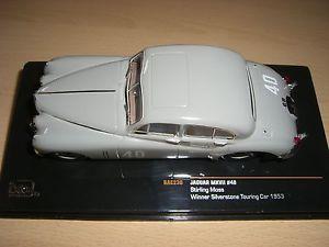 【送料無料】模型車 モデルカー スポーツカー ジャガー#シルバーストーンツーリングjaguar mk vii 40 winner silverstone touring car 1953 rac238  143