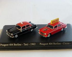 【送料無料】模型車 モデルカー スポーツカー プジョーpeugeot 404 set, norev, 187