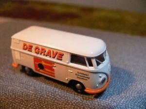 【送料無料】模型車 モデルカー スポーツカー #ボックスモデル187 brekina 0280 vw t1 b kasten de grave nl sondermodell