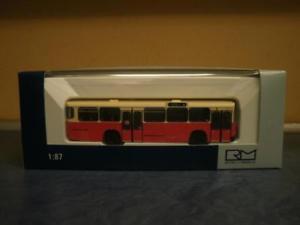 Rietze Gelenkbus MB O 305 G PTT Schweiz 74502
