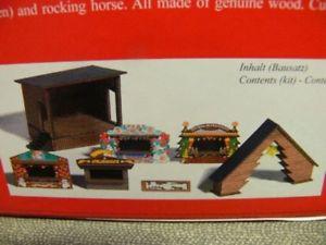 【送料無料】模型車 モデルカー スポーツカー ブッシュキットクリスマスマーケットロマンチッククリスマス187 busch bausatz waldweihnachtsmarkt 1183 romantic christmas market