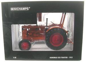 【送料無料】模型車 モデルカー スポーツカー トターオレンジhanomag r28 farm tractor orange 1953
