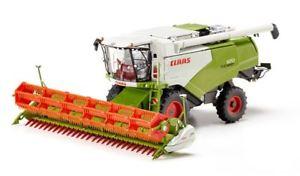 【送料無料】模型車 モデルカー スポーツカー ファイルハーベスタclaas 570 combine harvester with v 930 grain mower attachment mietitrebbia 132