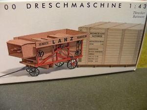 【送料無料】模型車 モデルカー スポーツカー ブッシュファイル143 busch lanz dreschmaschine 60100