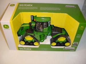 【送料無料】模型車 モデルカー スポーツカー ジョンディアリミテッドエディショントター116 john deere limited edition 9570rx green tractor 100 year anniversary nib