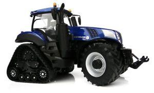 【送料無料】模型車 モデルカー スポーツカー オランダトラックスマージンモデルトタースケールmarge models 1804 holland t8435 smartrax tractor blue power 132 scale