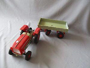 【送料無料】模型車 モデルカー スポーツカー アンカーボンバジェットy065 anker tracteur avec remorque en boite 80 cm bon etat