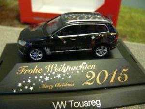 【送料無料】模型車 モデルカー スポーツカー フォルクスワーゲンメリークリスマス187 herpa vw touareg frohe weihnachten 2015 101950