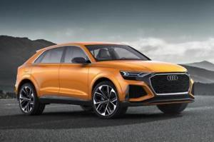 Audi Q8 Drachenorange 1:43 Modellauto 5011708631 Miniatur Norev Dragon Orange