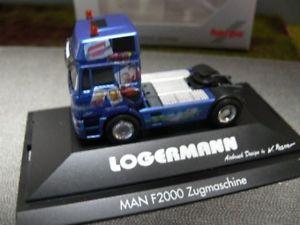 【送料無料】模型車 モデルカー スポーツカー トター187 herpa man f200098 zugmaschine logermann 192972