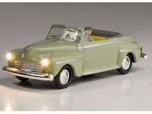 【送料無料】模型車 モデルカー スポーツカー システムプラグwoodland wjp5594 h0 pkw cabriolet beleuchtet just plug lighting system