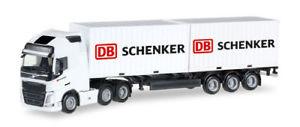 【送料無料】模型車 モデルカー スポーツカー herpa 305839 volvo fh gl xl 6x2 containersattelzug db schenker