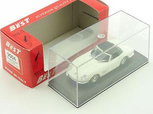 【送料無料】模型車 モデルカー スポーツカー フェラーリスパイダーコンモデルbest 9004 ferrari 275 gtb spyder con capottina modell 143 ovp 16031006