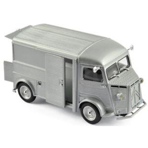 【送料無料】模型車 モデルカー スポーツカー citroen hy 1962 silver 143 154543 norev
