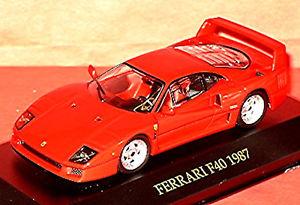 【送料無料】模型車 モデルカー スポーツカー フェラーリクーペレッドレッドネットワークferrari f40 coupe 198792 rot red 143 ixo fer007