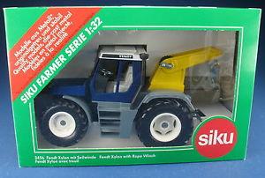 2020年新作 【送料無料】模型車 モデルカー スポーツカー ウインチトターオリジナルボックスsiku farmer 3456 fendt xylon mit seilwinde blau traktor neu in ovp 132, 上市町 71930981